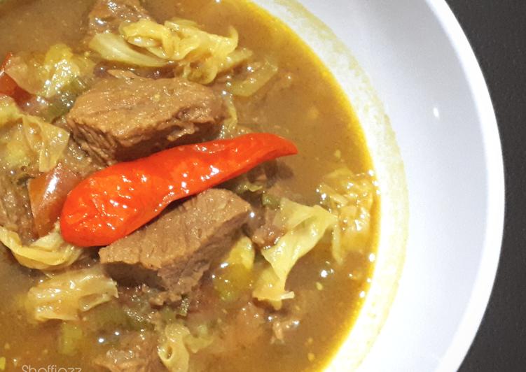 Resep: Tongseng Daging Sapi ala resto