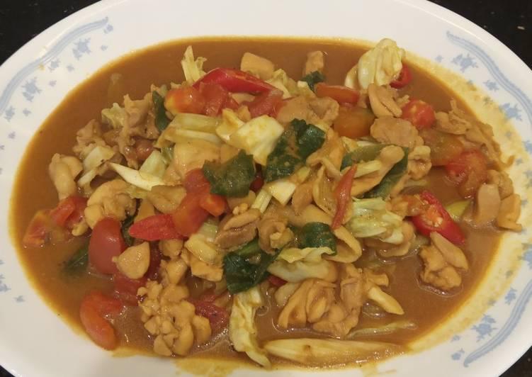 Cara Mudah membuat Tong seng ayam ala resto