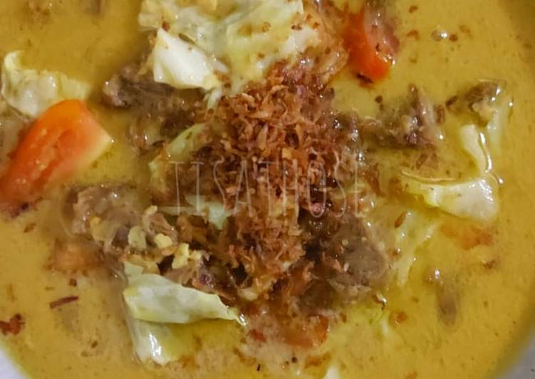 Tongseng daging sapi simple ala Those
