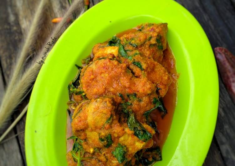 Resep: Rica rica ikan tongkol lezat