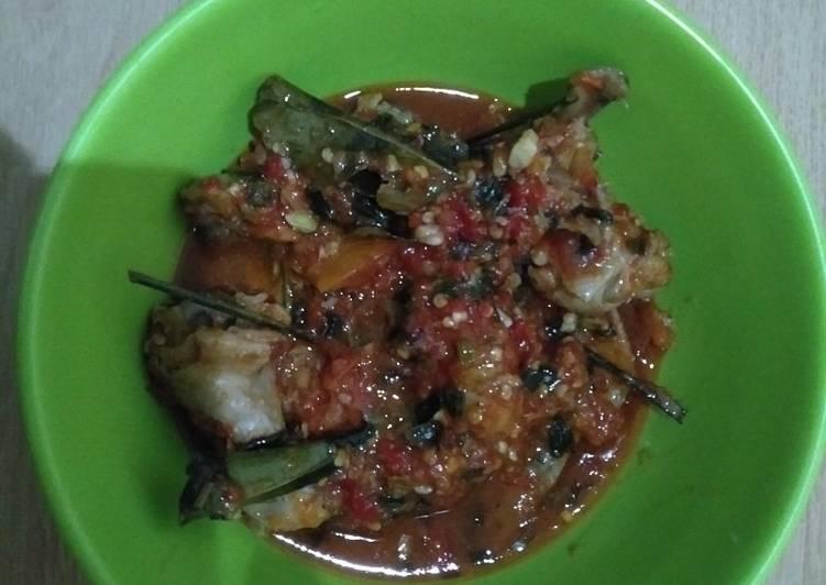 Cara memasak Sayap ayam rica-rica padang lezat