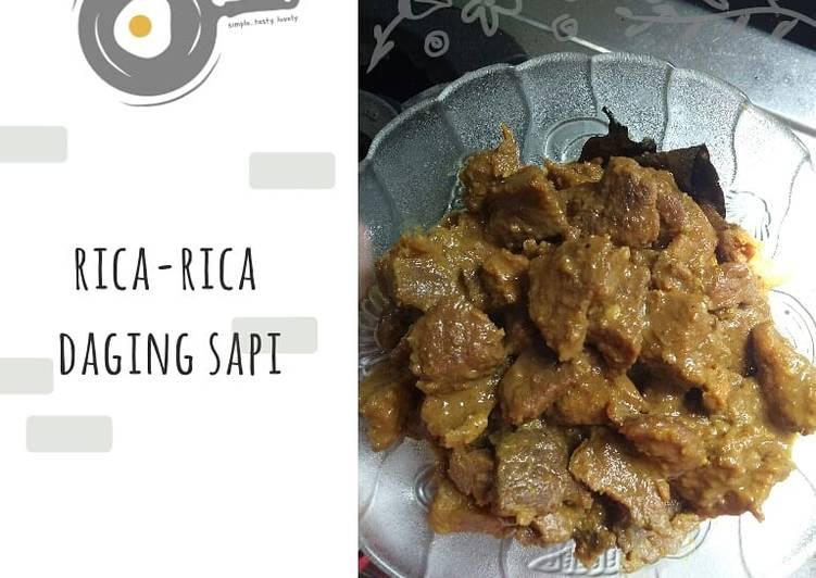 Resep: Rica-rica Daging Sapi yang menggugah selera