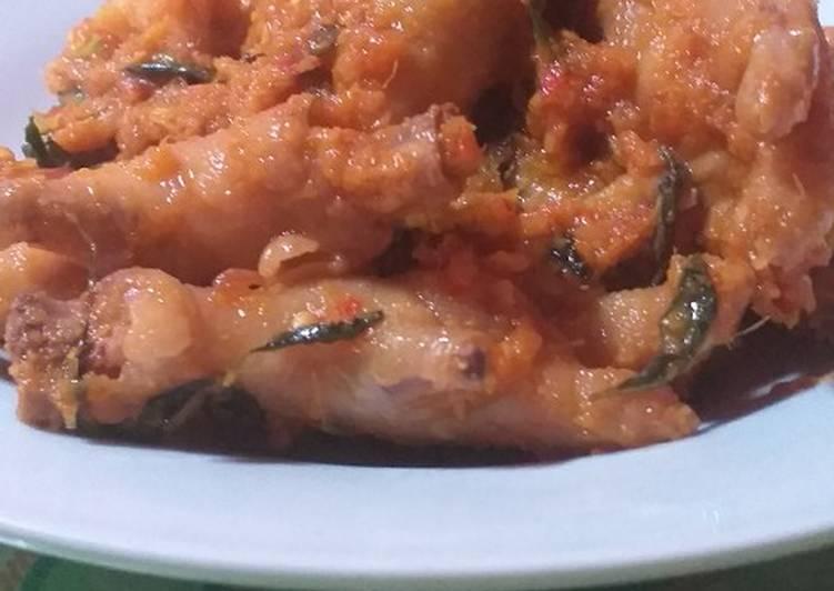 Resep: Ceker Ayam Rica Rica yang menggugah selera