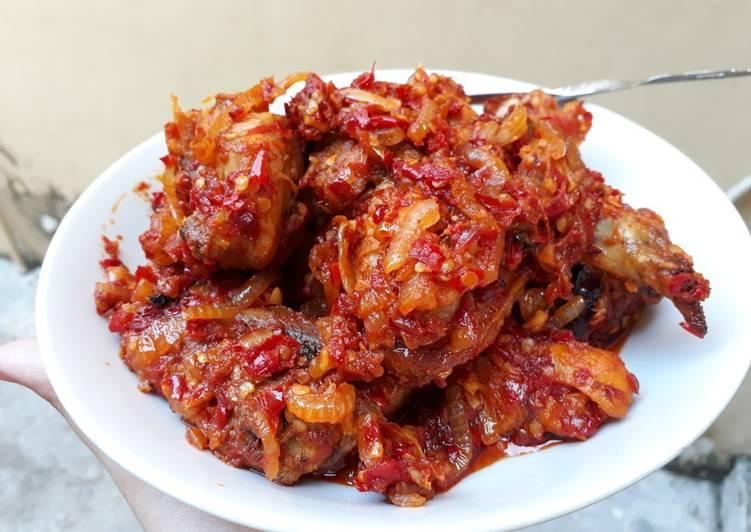 Resep mengolah Ayam rica yang menggugah selera