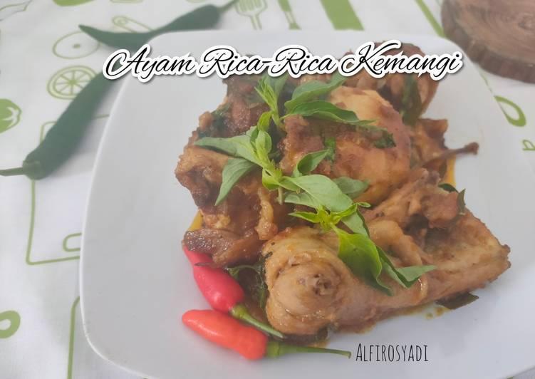 Resep: Ayam Rica-rica Kemangi yang bikin ketagihan