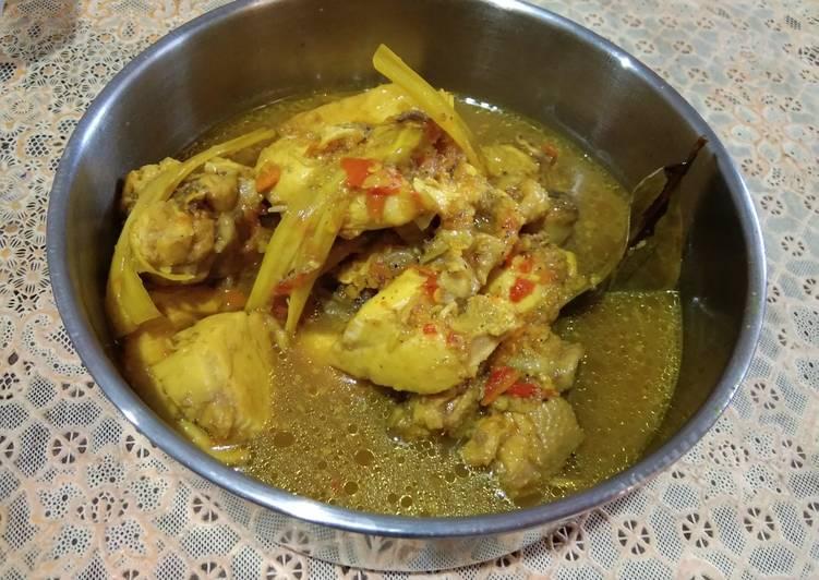 Resep memasak Rica rica ayam kuah kuning enak