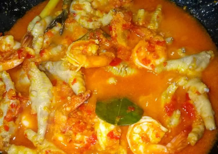 Cara memasak Ceker rica2 yang bikin ketagihan