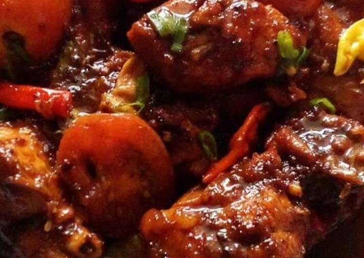 Resep membuat Ayam bumbu rica-rica