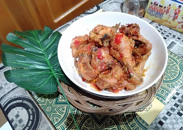 Resep: Ayam rica-rica yang menggugah selera
