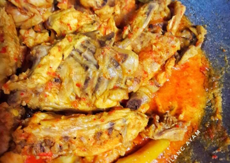 Resep: Rica rica tulang ayam yang menggugah selera