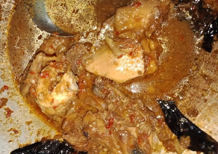 Cara Mudah memasak Rica Ayam Kampung yang menggugah selera