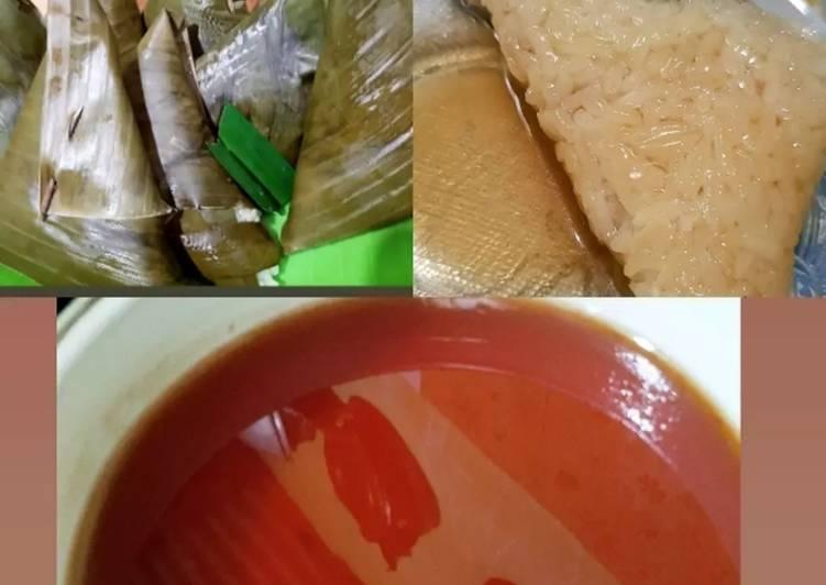 Resep mengolah Lupis tanpa kelapa yang menggugah selera