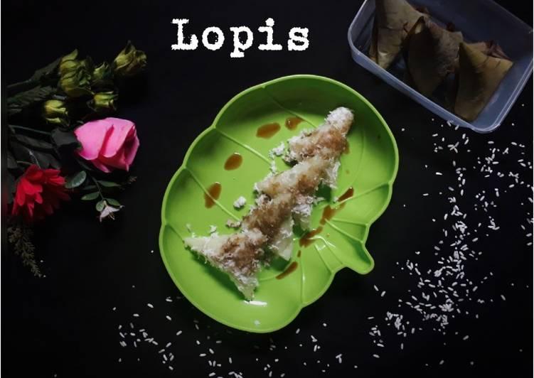 Cara Mudah memasak Lopis betawi legit yang menggugah selera