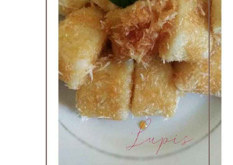 Cara Mudah memasak Lupis (jajanan pasar) endes, irit gas yang bikin ketagihan