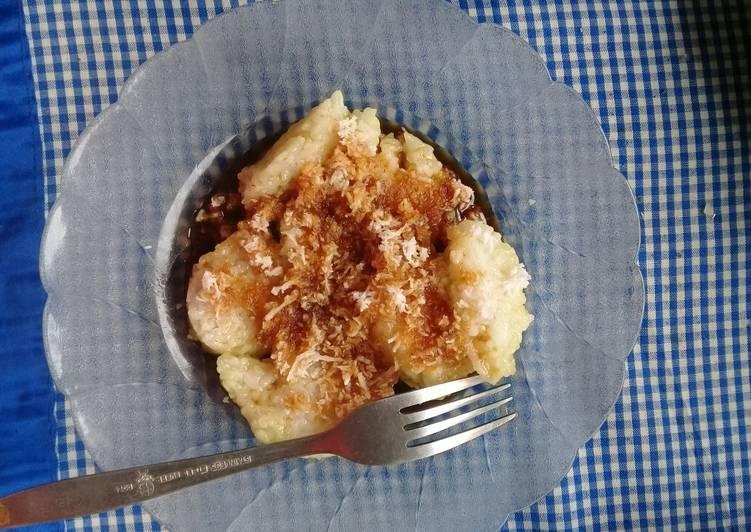 Resep mengolah Lopis Kentan putih enak