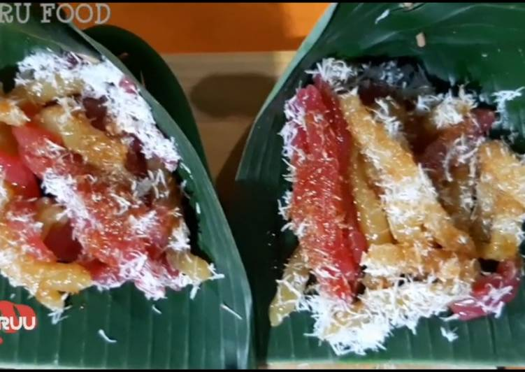 Resep mengolah Cenil makanan tradisional ala resto