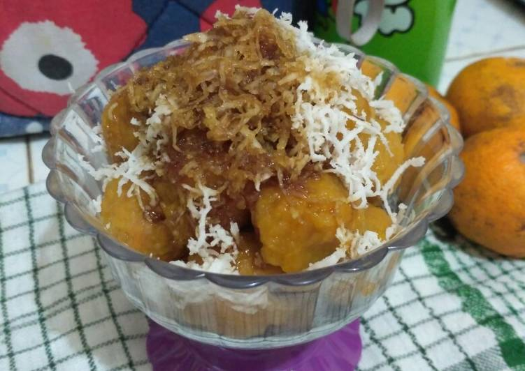 Cara Mudah memasak Cenil ubi rambat lezat