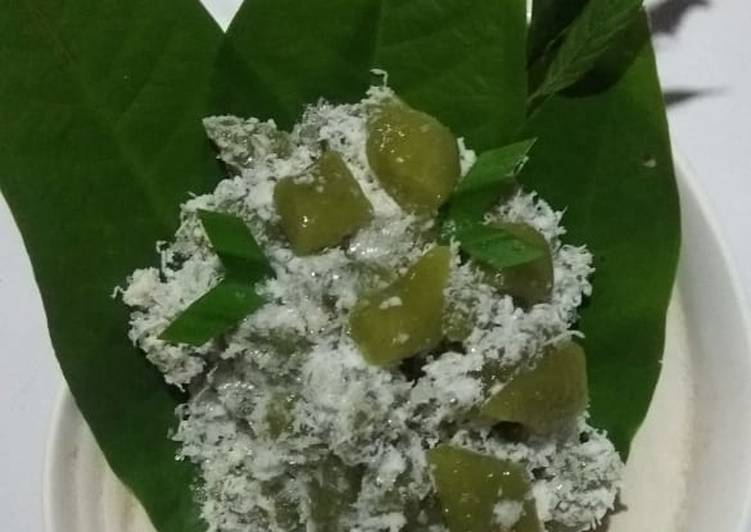 Resep membuat Cenil Durian Hijau lezat