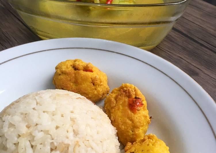 Resep: Nasi liwet fiber creme & sayur jipang / labu siam enak