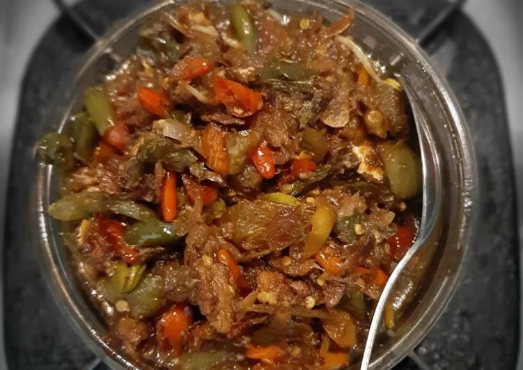 Resep: Sambal ikan peda (klotokan peda) lezat