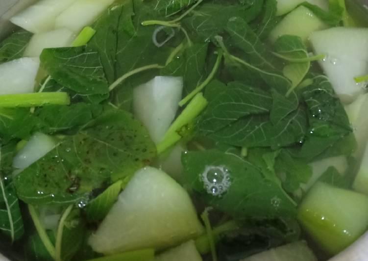 Resep: Sayur Bening Manisah yang bikin ketagihan