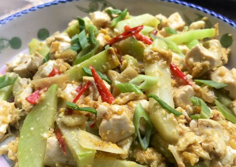 Resep: Tumis Orek Labu Siam Telur yang menggugah selera