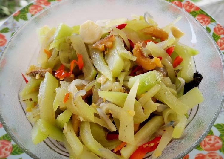Resep memasak Oseng Jipang ikan asin sedap