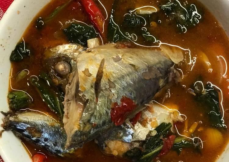 Resep: Sup ikan kembung asam pedas