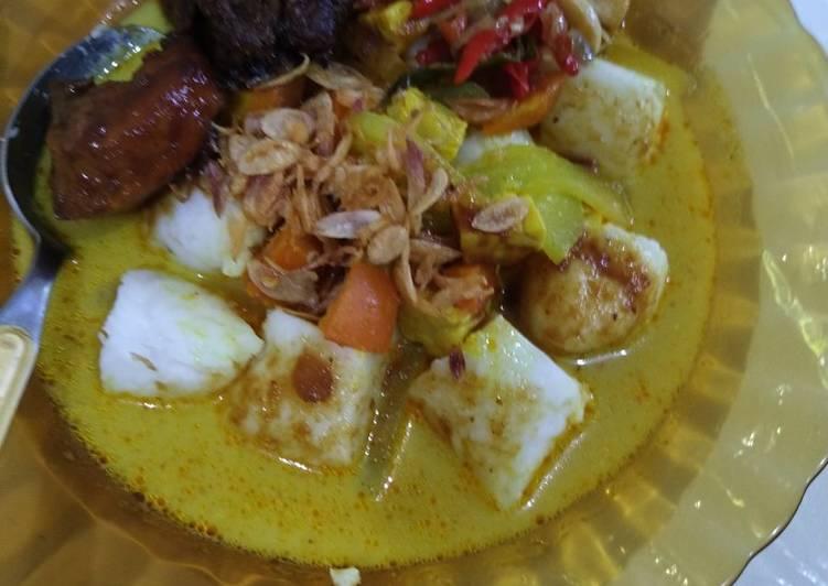 Cara Mudah memasak Sayur Lodeh Labu Siam ala resto
