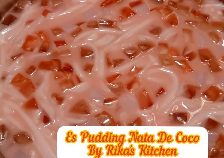 Resep: Es Kopyor Nata De Coco yang menggugah selera