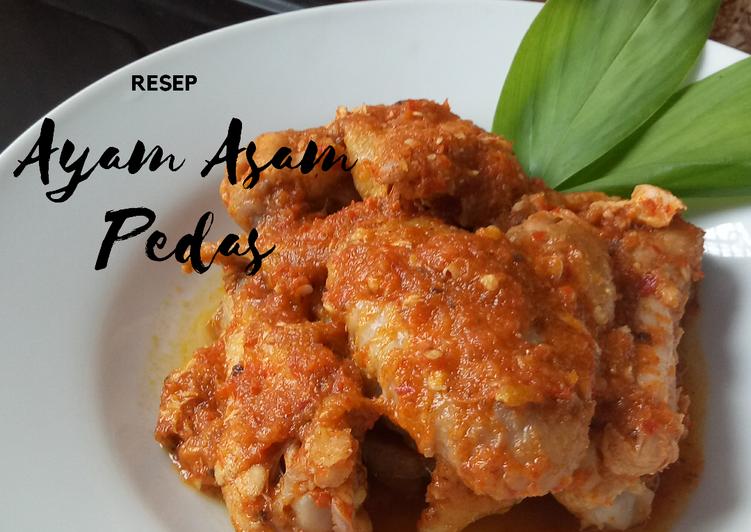 Cara memasak Ayam Asam Pedas yang menggugah selera