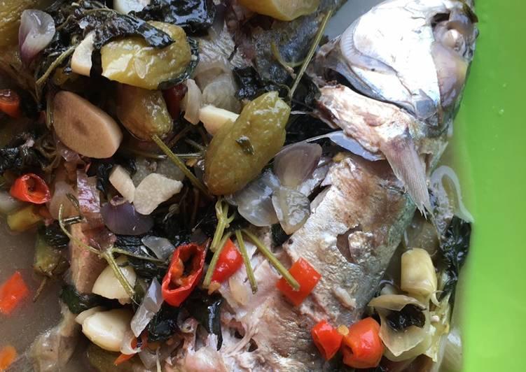 Ikan Kuah Asam Pedas suegerr
