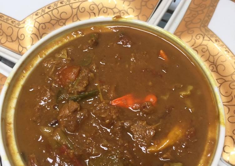 Resep: Tongseng Sapi Solo ala Mamiuna lezat