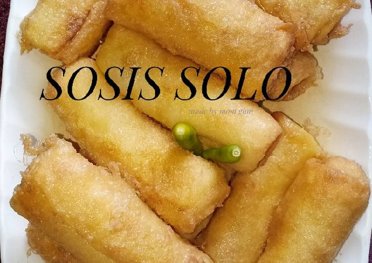 Resep: Sosis solo