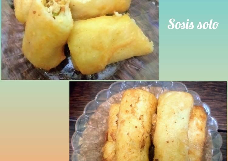 Cara mengolah Sosis solo ayam sayur #TiketMasukGoldenApron3 yang menggugah selera