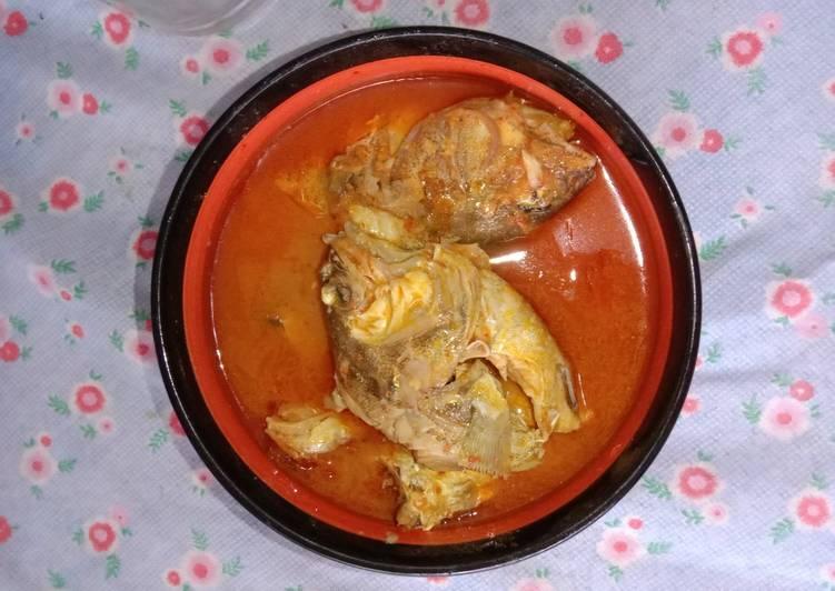 Resep: Asam keueng eungket kerapu (asam pedas ikan kerapu)