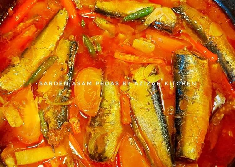 Resep: Sarden asam pedas by azizah kitchen lezat