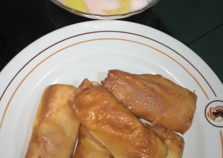 Resep memasak Sosis solo low carbo isian ikan tongkol suwir pedas daun jeruk