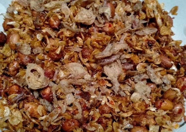 Resep: Rebon Kacang asam pedas manis yang menggoyang lidah