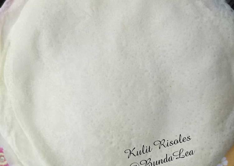 Resep: Kulit risoles/ sosis solo sedap