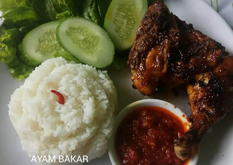 Resep: 332. Ayam Bakar Wong Solo ala Chef Supri istimewa