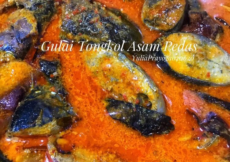 Cara memasak Gulai Tongkol Asam Pedas yang menggugah selera