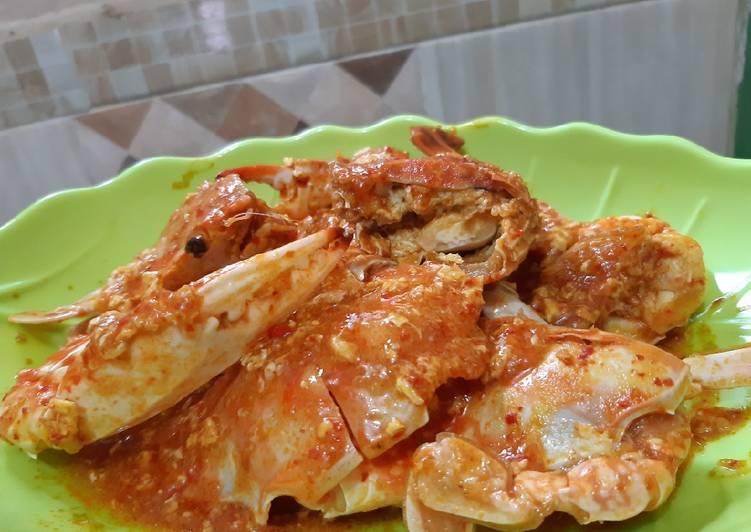 Resep: Kepiting rajungan asam pedas istimewa