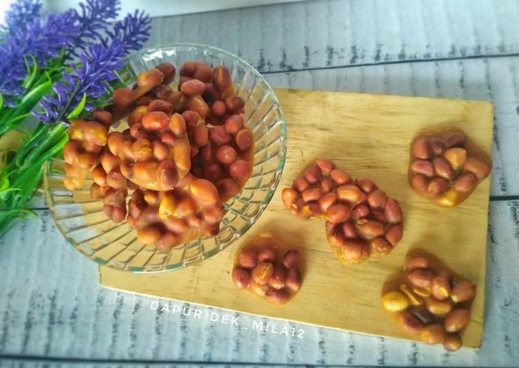 Cara Mudah membuat Ampyang kacang tanah istimewa