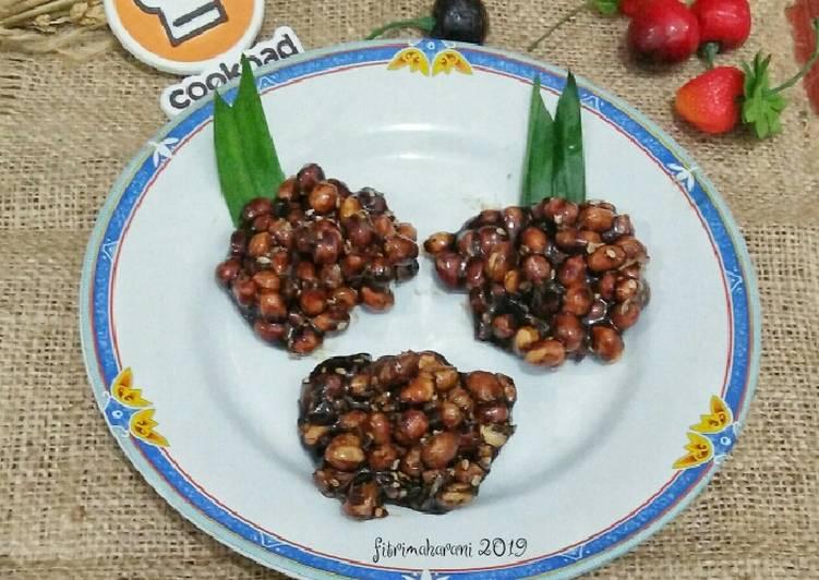 Cara Mudah membuat Ampyang Kacang yang menggugah selera