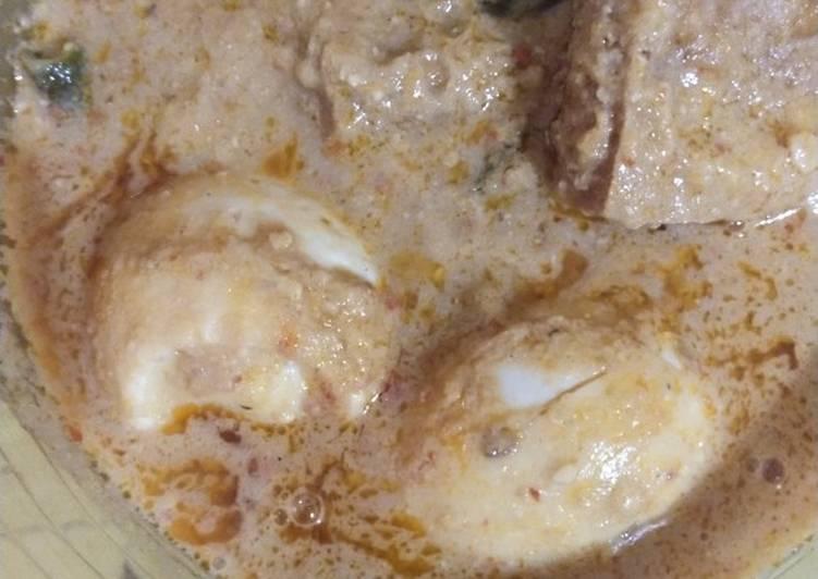 Resep: Sambel tumpang tahu telur