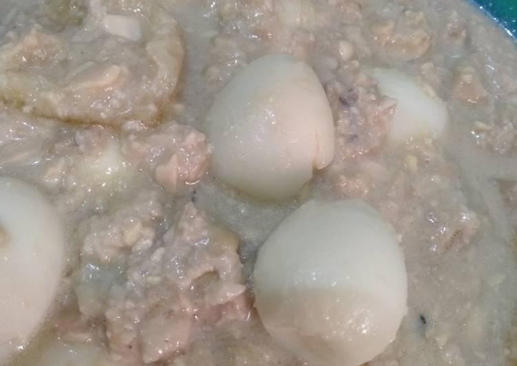 Resep: Sambal Tumpang telur puyuh enak