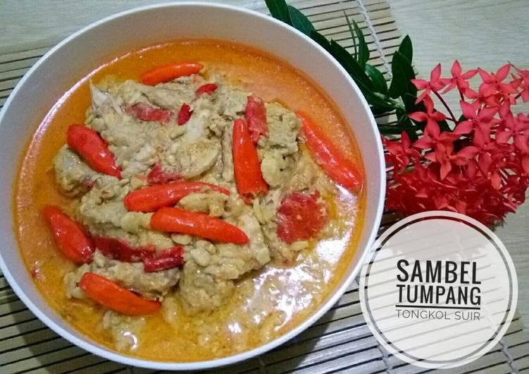 Resep: Sambel Tumpang Tongkol Suir ala resto