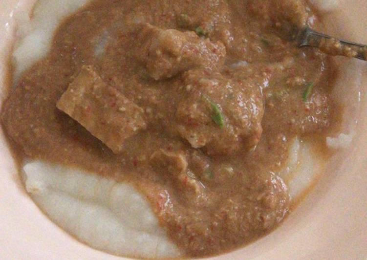 Resep memasak Bubur sambal tumpang boyolali yang bikin ketagihan
