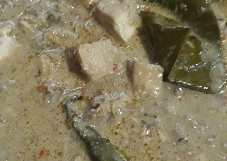 Cara memasak Sambel tumpang pedas enak